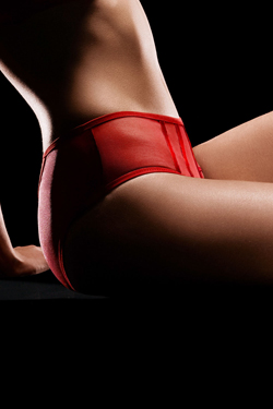 Roter Unterhosen